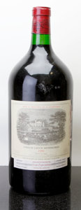 Red Bordeaux, Chateau Lafite Rothschild 1981 . Pauillac. ltsl. Double-Magnum (1). ... (Total: 1 D-Mag. )