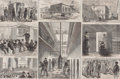 Prints, THE TOMBS. Stanley Fox, 19th century. 9-3/4 x 14 inches(24.8 x 35.6 cm). Newsprint. Elton Hyder III Colle...