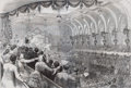 Prints, OHIO.--OPENING OF THE PRESIDENTIAL CAMPAIGN DEMOCRATICCONVENTION. 19th century. 15-1/2 x 21 inches (39.4 x 53.3 cm).Fr...