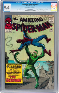 The Amazing Spider-Man #20 (Marvel, 1965) CGC NM 9.4 Off-white to white pages