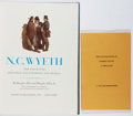 Books:Reference & Bibliography, Group of Two Books Relating to the Wyeth Family. Various,1972-1977. First edition, first printing. Both in very good orbet... (Total: 2 Items)