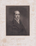 Prints, HENRY COCKBURN ESQ. . 19th century. 13 x 10 inches (33.0 x25.4 cm). Engraved by Will Walker after a painting by Henry R...