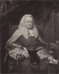 Prints, THE HONORABLE SIR HENRY GOULD KNIGHT . 18th century .Etching. 18 x 14-1/2 inches (45.7 x 36.8 cm). Elton ...