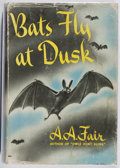 Books:Mystery & Detective Fiction, [Erle Stanley Gardner]. A. A. Fair. Bats Fly at Dusk.Morrow, 1942. First edition, first printing. Leaning. Stai...