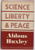 Books:World History, Aldous Huxley. Science, Liberty and Peace. Chatto & Windus, 1947. ...