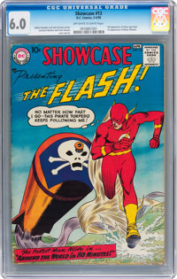 Showcase #13 The Flash (DC, 1958) CGC FN 6.0 Off-white to white pages