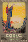 Prints, EMPRUNT NATIONAL 1920 RENAITRE, SOUSCRIVEZ TOUS! . 20thcentury. Color lithograph. 47-1/4 x 31-1/2 inches (120.0 x 8...