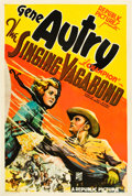 "Movie Posters:Western, The Singing Vagabond (Republic, 1935). One Sheet (27.5"" X 41"")....."