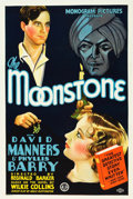 "Movie Posters:Mystery, The Moonstone (Monogram, 1934). One Sheet (27.25"" X 41"").. ..."