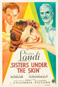 "Movie Posters:Drama, Sisters Under the Skin (Columbia, 1934). One Sheet (27"" X 41"")Style B.. ..."
