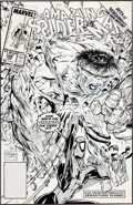 Original Comic Art:Covers, Todd McFarlane The Amazing Spider-Man #328 Cover OriginalArt (Marvel, 1990)....