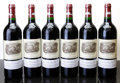 Red Bordeaux, Chateau Lafite Rothschild 2002 . Pauillac. 4lbsl, 2wisl,2sos. Bottle (6). ... (Total: 6 Btls. )
