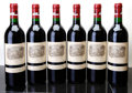 Red Bordeaux, Chateau Lafite Rothschild 1990 . Pauillac. 1sdc. Bottle (6).... (Total: 6 Btls. )