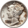 Mercury Dimes: , 1916 10C MS65 Full Bands PCGS. CAC. PCGS Population (856/447). NGCCensus: (602/417). Mintage: 22,180,080. Numismedia Wsl. ...