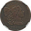 Large Cents: , 1794 1C Head of 1794 -- Improperly Cleaned -- NGC Details. VF.S-32. PCGS Population (59/147). Numisme...
