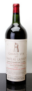 Red Bordeaux, Chateau Latour 1947 . Pauillac. ts, bsl. Magnum (1). ... (Total: 1 Mag. )