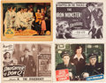 Movie/TV Memorabilia:Posters, Kirk Alyn Lobby Card Group (1942-52)... (Total: 17 Items)