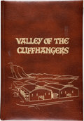Movie/TV Memorabilia:Memorabilia, Valley of the Cliffhangers Book Group (Jack Mathis, 1975-95)....(Total: 2 Items)