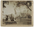 "Antiques:Black Americana, Could These be the Descendents of ""Old Hickory's"" Slaves? Awonderful, 8.75"" x 7.25"" photograph of The Hermitage on a 10"" x ..."