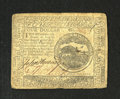 Colonial Notes:Continental Congress Issues, Continental Currency February 17, 1776 $4 Very Fine. This is a verywell margined Continental note with good print quality a...