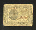 Colonial Notes:Continental Congress Issues, Continental Currency July 22, 1776 $7 Fine-Very Fine. A niceexample of this much scarcer issue which has retained good sign...