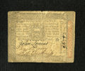Colonial Notes:Pennsylvania, Pennsylvania October 1, 1773 18d Very Fine. A solid Very Fine notewith bold signatures and serial number....