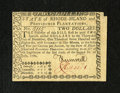Colonial Notes:Rhode Island, Rhode Island July 2, 1780 $2 About New. A note that is tough toestimate as it is a stunning original About New with a small...