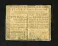 Colonial Notes:Rhode Island, Rhode Island July 2, 1780 $8 Fine. The center fold has beenreinforced, while one signature has faded....