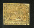 Colonial Notes:Virginia, Virginia March 1, 1781 $1000. This scarcer high denomination note has some pieces missing and therefore has been backed....