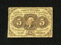 Fractional Currency:First Issue, Fr. 1229 5c First Issue Fine. This is the scarce Friedberg number without the ABC monogram for this design. Fr. 1229s are at...