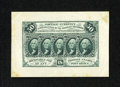Fractional Currency:First Issue, Fr. 1313SP 50c First Issue Wide Margin Specimen Face Very Fine-Extremely Fine. Vibrant color still remains on this example t...