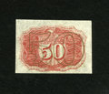 Fractional Currency:Second Issue, Fr. 1314SP 50c Second Issue Narrow Margin Back Specimen New. Nice color adorns this Specimen that has an approximate half in...