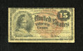 Fr. 1267 15c Fourth Issue Very Good. Nice edges for the grade are found on this note