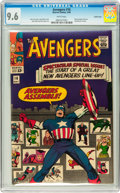 Silver Age (1956-1969):Superhero, The Avengers #16 Pacific Coast pedigree (Marvel, 1965) CGC NM+ 9.6White pages....