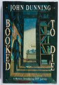 Books:Mystery & Detective Fiction, John Dunning. Booked to Die. Scribners, 1992. First edition, first printing. Leaning. Minor rubbing and bumping. Ver...