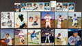 Baseball Collectibles:Photos, New York Mets Stars Signed Photographs and Postcards Lot of 22....