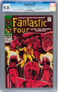 Silver Age (1956-1969):Superhero, Fantastic Four #81 (Marvel, 1968) CGC NM/MT 9.8 White pages....