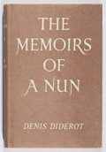 Books:Literature 1900-up, Denis Diderot. Memoirs of a Nun. Elek Books, 1959. Minor bowing to boards. Spine slightly cocked. Very good....