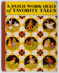Books:Children's Books, [Children's Books]. A Patchwork Quilt of Favorite Tales.Donohue, 1933. Later edition. Noticeable wear to boards...
