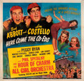 """Movie Posters:Comedy, Here Come the Co-eds (Universal, 1945). Six Sheet (81"""" X 81"""").. ..."""