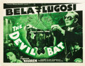 "Movie Posters:Horror, The Devil Bat (PRC, 1940). Half Sheet (22"" X 28"").. ..."
