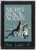Books:Science Fiction & Fantasy, Fritz Leiber, Jr. Night's Black Agents. Arkham House, 1947. First edition, first printing. Toning and offsetting...