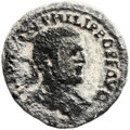 Ancients:Judaea, Ancients: SAMARIA. Neapolis. Philip I (AD 244 - 249). Æ 28mm (12.98gm, 12h)....