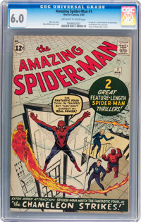 The Amazing Spider-Man #1 (Marvel, 1963) CGC FN 6.0 Off-white to white pages