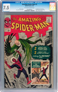 Silver Age (1956-1969):Superhero, The Amazing Spider-Man #2 (Marvel, 1963) CGC VF- 7.5 Off-white towhite pages....