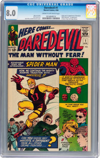 Daredevil #1 (Marvel, 1964) CGC VF 8.0 Cream to off-white pages