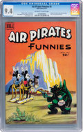 Bronze Age (1970-1979):Alternative/Underground, Air Pirates Funnies #2 (Hell Comics Group, 1971) CGC NM 9.4 Off-white to white pages....