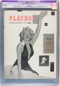 Magazines:Miscellaneous, Playboy #1 (HMH Publishing, 1953) CGC Apparent FN+ 6.5 Slight (A) White pages....