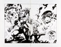 Original Comic Art:Splash Pages, Mat Broome and Homage Studios Captain America #7 Double-PageSplash 18 and 19 Original Art (Marvel, 1997)....