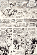 Original Comic Art:Panel Pages, Bernie Wrightson Swamp Thing #9 Page 4 Original Art (DC,1974)....